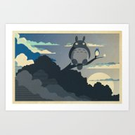 Art Print featuring My Neighbor by The Art Of Danny Haa…