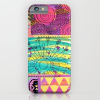 Collage - animal - tribal iPhone 6 Slim Case