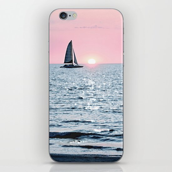 Sail Into The Sun 2 iPhone & iPod Skin