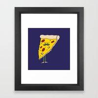 Food W/ Legs - No. 3 Framed Art Print