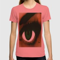 ENVY Womens Fitted Tee Pomegranate SMALL