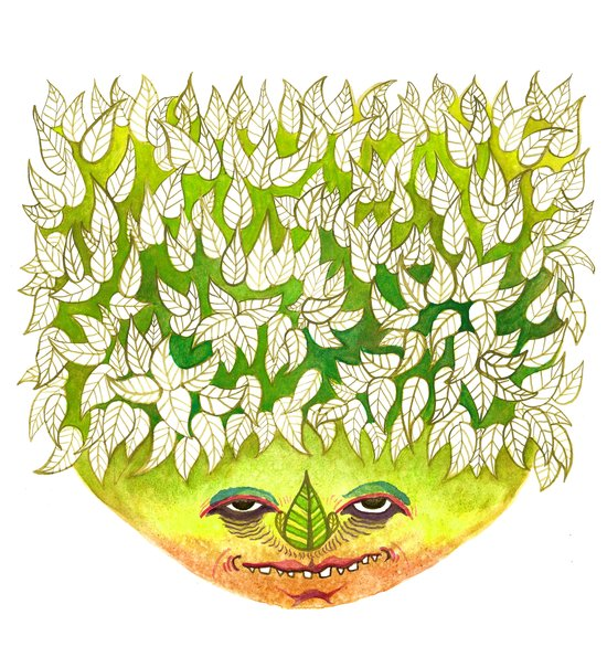Majestic Leaf Art Print