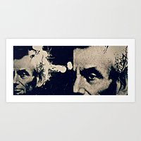 ABE LINCOLN'S HANDSOME H… Art Print