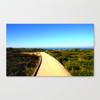 Path to the Great Southern Ocean Canvas Print