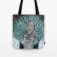 Smells Like Fish Tote Bag