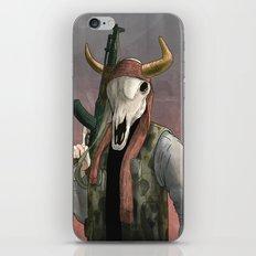Undead Cow rebal iPhone & iPod Skin