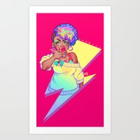 Thunder Z Art Print