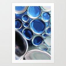 Blue-1 Art Print