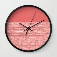 Riverside - Cayenne Wall Clock