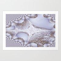Angry Seas Fractal Art Print