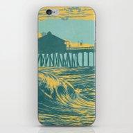 Vintage Huntington Beach… iPhone & iPod Skin