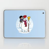 Inflatable Snowman Laptop & iPad Skin