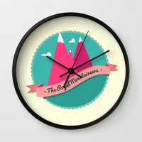 The Royal Mountaineers Wall Clock