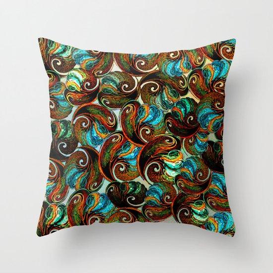 Shell pattern Throw Pillow