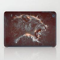 DARK LION iPad Case