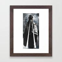 DARKNESS/ENLIGHTENMENT Framed Art Print