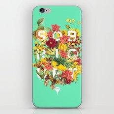 Flora Tropical. iPhone & iPod Skin