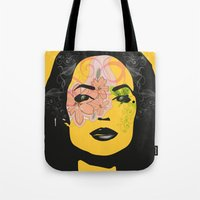 Mysterious Woman 1 Tote Bag