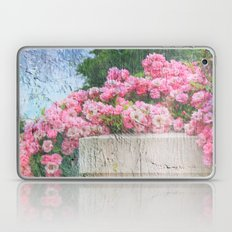 Cascade of Pink Roses Laptop & iPad Skin