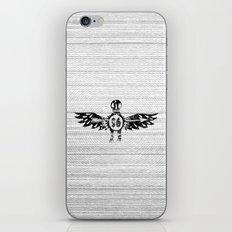 SOCIETY SPIRIT S6 TEE iPhone & iPod Skin