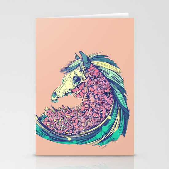 Beautiful Horse Stationery Card