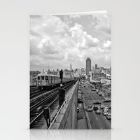 New York From the Seven Train Stationery Cards
