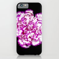 iPhone & iPod Case featuring 8BIT flower by Alfredo Lietor