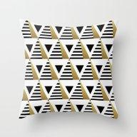 Pyramids Throw Pillow