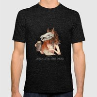 Long Live The Dead - Fox Mens Fitted Tee Tri-Black SMALL