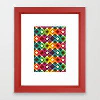 Geometric Pattern (2013) Framed Art Print