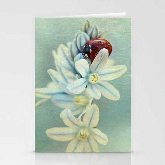 Ladybirds Stationery Card