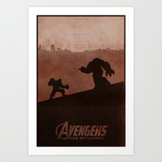 Your Extinction - Age of Ultron Poster Art Print