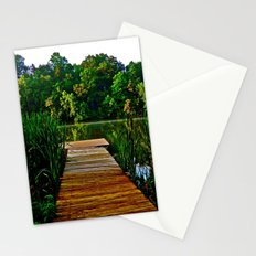 Out on the Dock Stationery Cards
