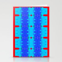 Marina II - Abstract Painting Stationery Cards