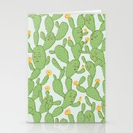 Happy Cactus | Pattern Stationery Cards