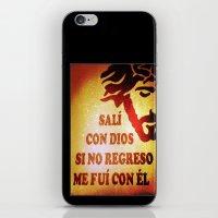 Sali con Dios iPhone & iPod Skin