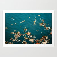 Autumn Sea Art Print