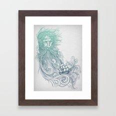 Seabeard Framed Art Print