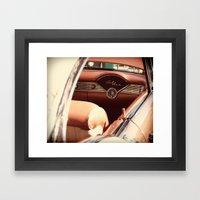 Dream Car Framed Art Print