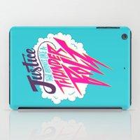 Justice Like A Thunderbolt iPad Case