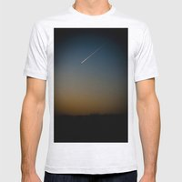 Dusk Mens Fitted Tee Ash Grey SMALL