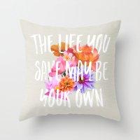 TLYS Throw Pillow