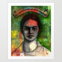 Wings To Fly, A Portrait… Art Print