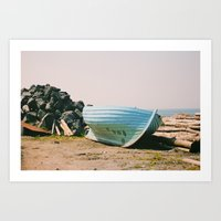 Long Country Art Print