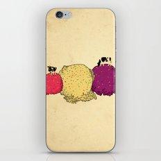 Cows love ice cream iPhone & iPod Skin