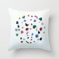 A Perpetual State Of Unf… Throw Pillow