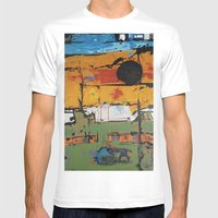 98712 Mens Fitted Tee White SMALL