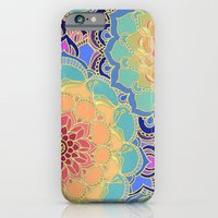 yellow iPhone & iPod Cases featuring Obsession by micklyn