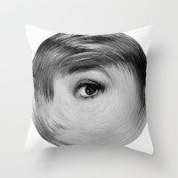 ArcFace - Audrey Hepburn… Throw Pillow