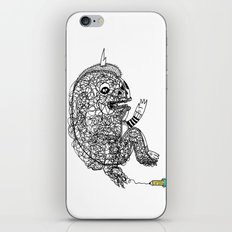 A Doodle Lives Inside of ME.  iPhone & iPod Skin